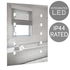 battery operated mirror lights contemporary battery operated led illuminated bathroom mirror lights