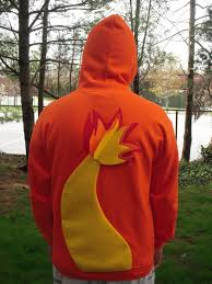 charmander with flaming tail inspired pokemon hoodie snorlax