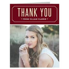 thank you graduation cards graduation thank you cards match your color style free basic