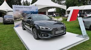 audi a5 for sale vancouver 2018 audi a5 coupe surprises with debut in vancouver