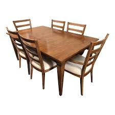ethan allen dining table 6 chairs design plus gallery