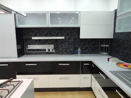 two tone kitchen cabinets brown and white white modern counter l