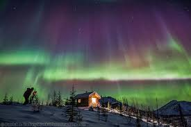 Northern Lights Forecast Alaska Natural History Information About The Northern Lights In Alaska