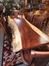 solid wood dining room tables amish custom furniture and accents amish dining room furniture