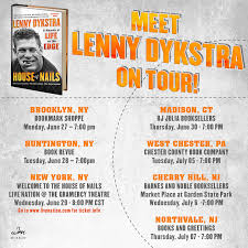 The Review Lenny Dykstra S House Of Nails - your chance to meet lenny dykstra blogging mets