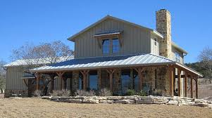 Lovely Ranch Home W Wrap Around Porch In Texas Hq Plans Metal Home Designs