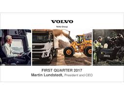 ab volvo volvo ab adr b 2017 q1 results earnings call slides volvo ab