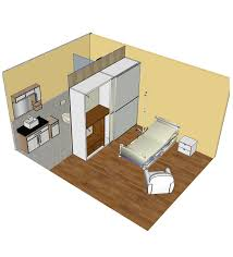 3d sketchup models private hospital room cadblocksfree cad
