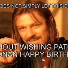 Adult Birthday Memes - 25 best memes about lord of the rings birthday meme lord of