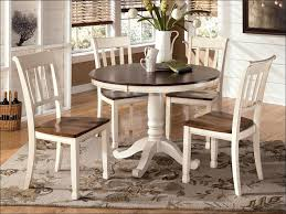 furniture ashley furniture round glass dining table ashley