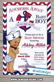 sailor baby shower sailor baby shower invitations sailor boy ba shower invitation