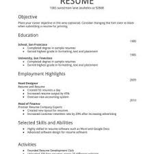 cover letter resume format template download best resume format