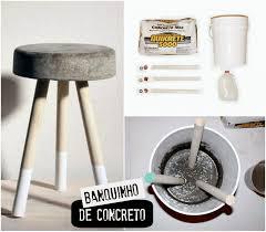 homemade modern concreto da construção para decoração diy concrete and craft