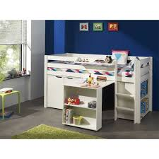 lit combiné bureau fille lit combiné pour enfant avec commode bureau bibliothèque et tablet