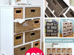 Bathroom Storage Units Free Standing Bathroom Storage Units With Baskets Great Storage With Baskets