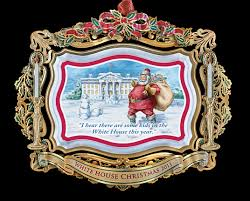 official white house ornaments the yule log 365