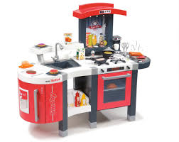Play Kitchen Red Amazon Com Smoby Super Chef Deluxe Roleplay Kitchen With 47