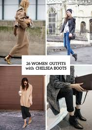 26 stunning with chelsea boots for fashionable ladies