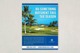 professional tax preparation flyer template inkd