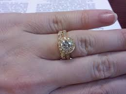 how to wear wedding ring set how to properly wear a wedding ring set tbrb info