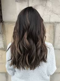 how to dye dark brown hair light brown shocking di ional brunette baby highlights balayage ombre dark brown
