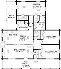 Log Cabin Plans First Floor Plan Of Adair Log Cabin Plan I Like But Add 8 Feet On