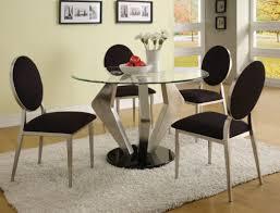 modern black dining room sets dining room inspiring black and silver set designer upholstered