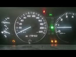 trac off and check engine light toyota land cruiser dash lit up like a christmas tree check engine trac