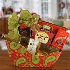 christmas wine gift baskets ride with me christmas sleigh moscato wine gift basket wine