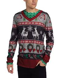 faux real s frisky deer sweater sleeve shirt at