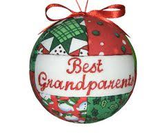 Grandparent Christmas Ornaments Personalized Family Ornaments Set Of Five Handmade Christmas