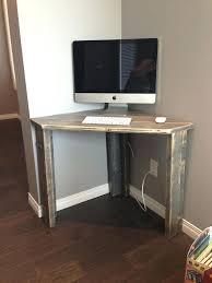 Desk L With Organizer Corner Desktop Computer Desk Bethebridge Co