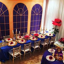 Beauty And The Beast Ball Birthday Party Ideas  Shops - Beauty and the beast dining room