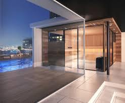 sauna glass doors panorama sauna cabin panoramic sauna pinterest saunas cabin