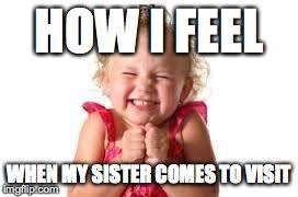 Sister Meme - sister imgflip