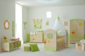 baby nursery decor playground themed green soft colored baby