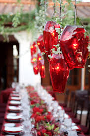 remarkable design ideas of christmas party centerpiece with clear