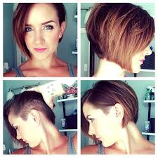 pictures of over the ear hair styles i like this undercut bob but with the undercut wrapping around to
