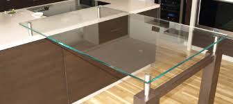 Glass Breakfast Bar Table Ultra Modern Kitchen Glass Table Tops Manufactured And Supplied