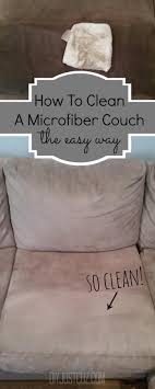 how to clean sofa at home astonishing couch stain remover the best thing about a microfiber is