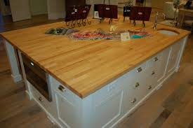 butcher block kitchen islands islands with sinks in them tops on this kitchen island gives