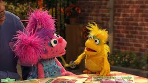 sesame children big challenges divorce bird