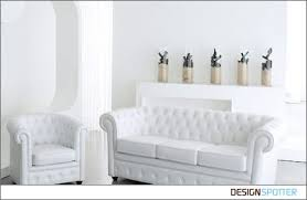 Chesterfield White Leather Sofa Captivating White Leather Chesterfield Sofa Products White