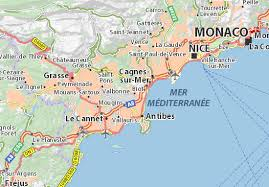 map of antibes map of biot michelin biot map viamichelin