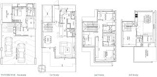eco floor plan townhouse clift no lift