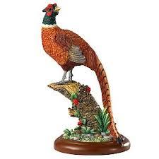 pheasant bird ornament figurine bfa pheasant bird ornaments