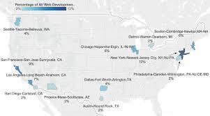 Map Of Scottsdale Arizona by Map Web Dev Percent Of Allwebdevjobs 0217 4 Jpg