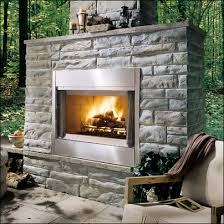 Outdoor Fireplace Insert - majestic wood burning fireplaces