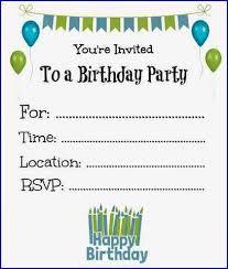 printable photo birthday invitations gallery invitation design ideas
