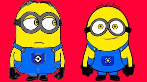 minions despicable coloring children minions
